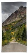 Going To The Sun Road Beach Towel