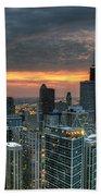Gold Coast Sunset Beach Towel