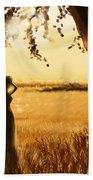 Gold Field Beach Towel