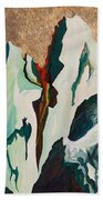 Gold Mountain Beach Towel