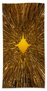 Gold Star Beach Towel