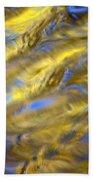 Gold Waters Beach Towel