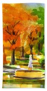 Golden Autumn Day 2 Beach Towel