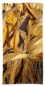 Golden Corn Beach Towel