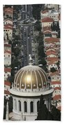 Golden Dome Beach Towel