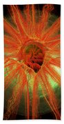 Golden Eye Beach Towel