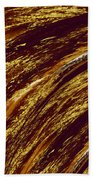 Golden Falls Beach Towel