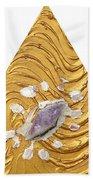Golden Flow Creator Beach Towel