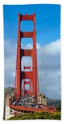 Golden Gate Bridge Beach Towel by Adam Romanowicz
