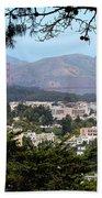 Golden Gate From Buena Vista Park Beach Towel