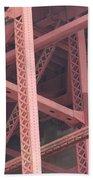 Golden Gate's Skeleton Beach Towel