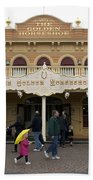 Golden Horseshoe Frontierland Disneyland Beach Towel