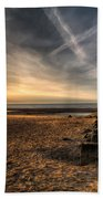 Golden Light Beach Towel
