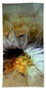 Golden Lily Beach Towel