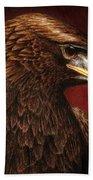 Golden Look Golden Eagle Beach Towel