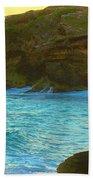 Golden Mujere Beach Towel