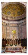Golden Pantheon Altar Beach Towel