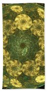 Golden Pebbles Beach Towel