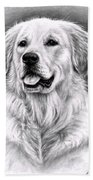 Golden Retriever Spence Beach Towel