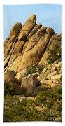 Golden Rocks Of Hidden Valley Beach Towel