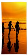 Golden Sands  Beach Towel