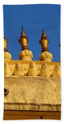 Golden Spires Udaipur City Palace India Beach Towel