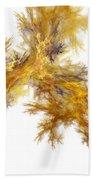 Golden Stickers Beach Towel