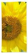 Golden Sunflower - 2013 Beach Towel
