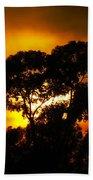 Golden Sunset... Beach Towel