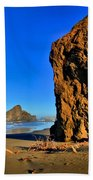 Golden Towers Of Bandon Beach Towel
