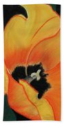 Golden Tulip Beach Towel