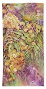 Golden Wattle Beach Towel