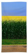 Golden Waves Of Grain Beach Towel