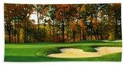 Golf Course, Great Bear Golf Club Beach Towel