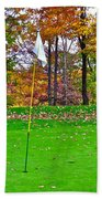 Golf My Way Beach Towel by Frozen in Time Fine Art Photography