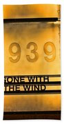 Gone With The Wind Beach Towel