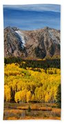 Good Morning Colorado Beach Towel