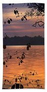 Goodnight Lake Beach Towel