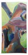 Goofball Beach Towel by Kimberly Santini