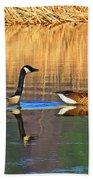 Goose Talk Too Beach Towel