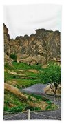 Goreme Open Air Musuem With Six Early Christian Churches In Capp Beach Towel