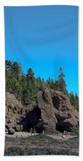 Gorgeous Rock Formations Beach Towel