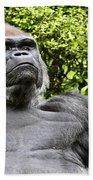 Gorilla Look Beach Towel
