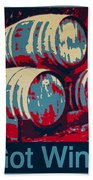 Got Wine Blue Beach Towel