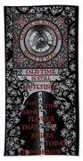 Gothic Celtic Impermanence Beach Towel