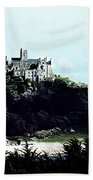 Gothic St Michael's Mount Cornwall Beach Towel