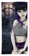 Gothic Temptation Beach Towel