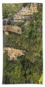 Govetts Leap Falls Beach Towel