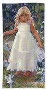 Grace In The Fairy Garden Beach Towel