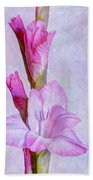 Grace With Textures Beach Towel